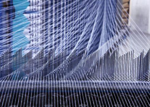 weaving machine fibers